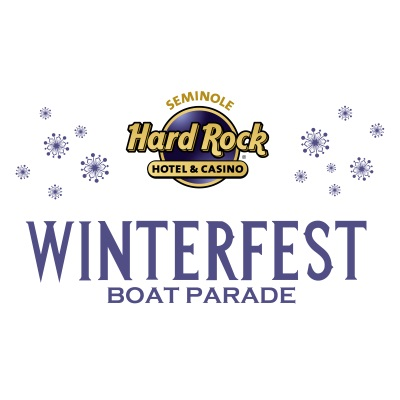 Seminole Hard Rock Winterfest Boat Parade Logo
