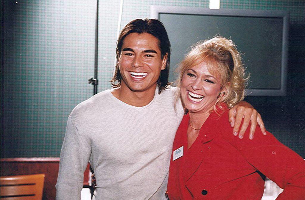 1999 GM Julio Iglesias, Jr. and Lisa Scott