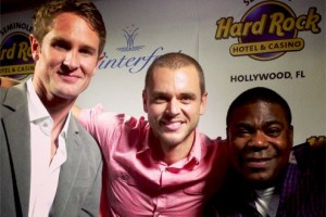 Picture of 2013 Grand Marshals Ryan Hunter-Reay and Tracy Morgan