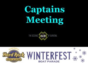 Image for Captain's Meeting