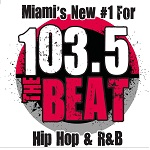 Logo for 103.5 The Beat