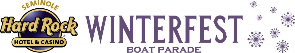 Logo for the Seminole Hard Rock Winterfest Boat Parade