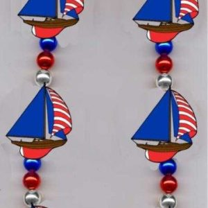 Image of the Sailboat Blinky Necklace