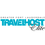 Logo for Travelhost Magazine of Greater Fort Lauderdale