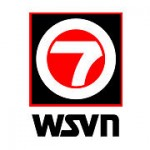 Logo for WSVN 7- TV