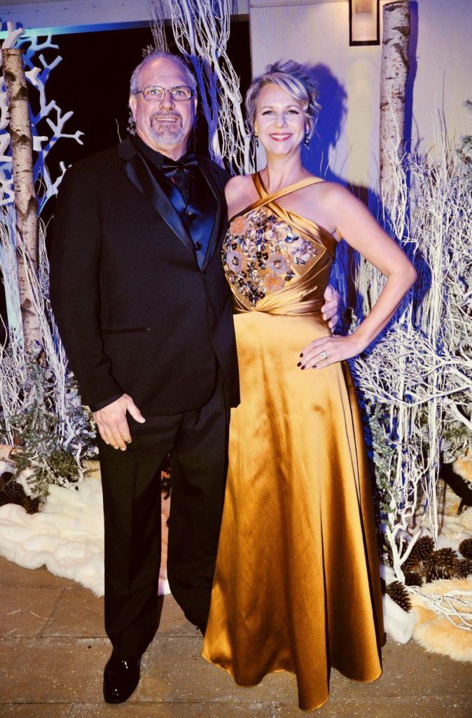 2014 Commodore Rob Kornahrens and Maureen Canada