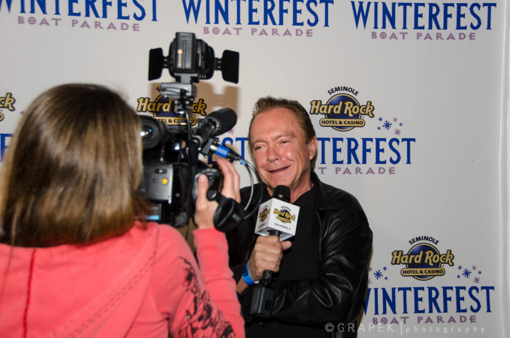 2014 Parade Celebrity and Past Grand Marshal David Cassidy