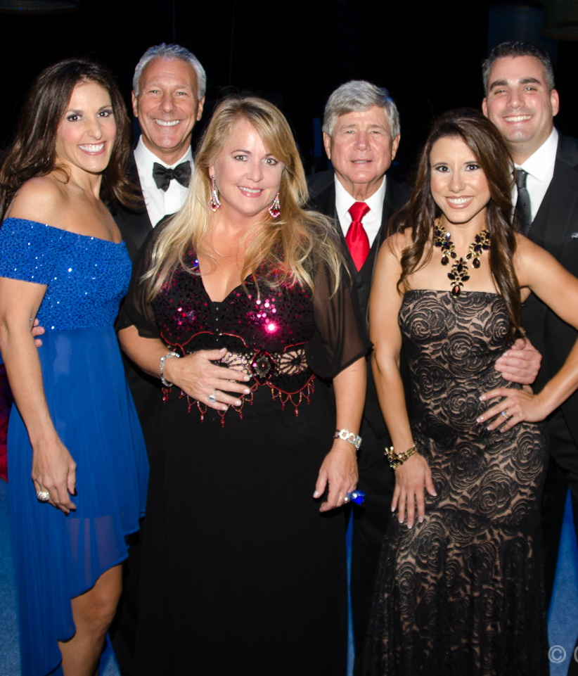 WSVN Team with 2014 Bell of the Ball Diana Reed
