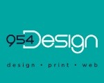 Logo for 954 Design