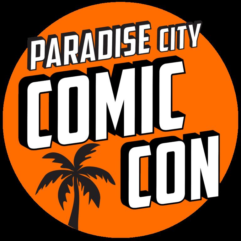 Paradise City Comic Con  Logo