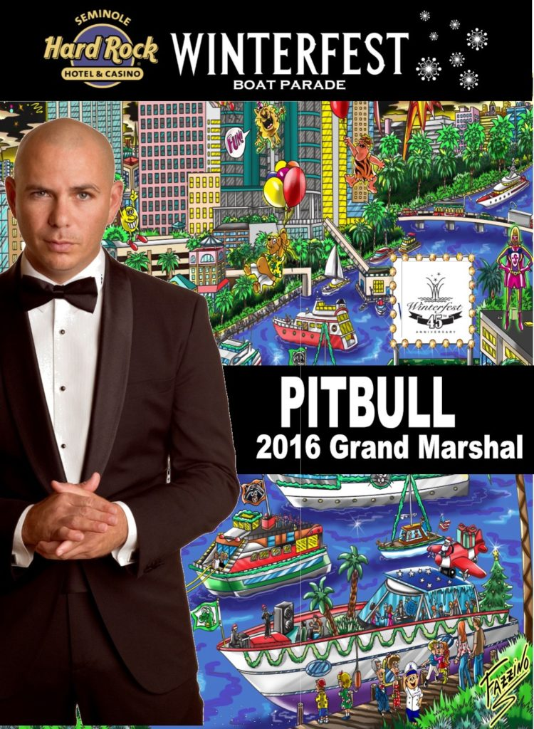 Image for 2016 Grand Marshal – PITBULL