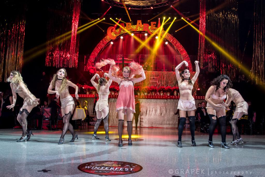 2016 Black Tie Ball entertainment Cabaret