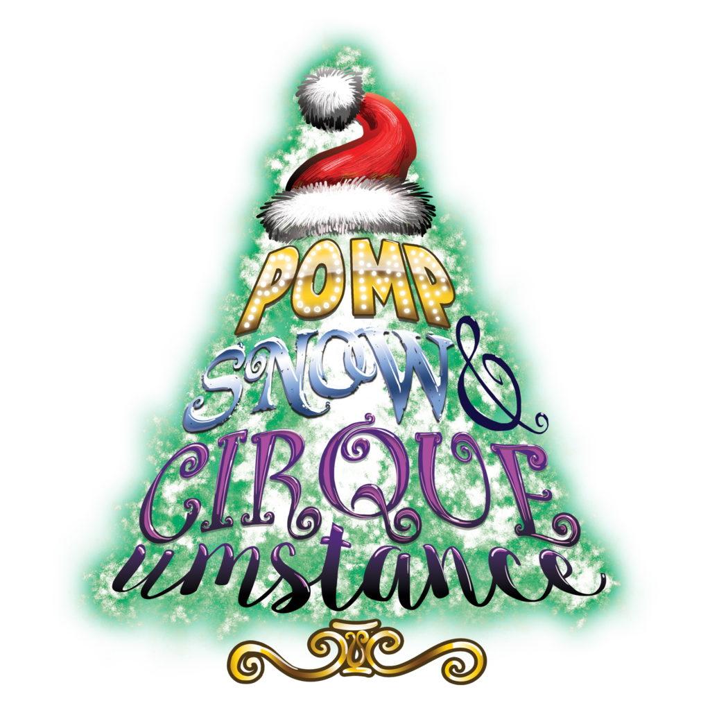 Pomp, Snow & Cirqueumstance logo