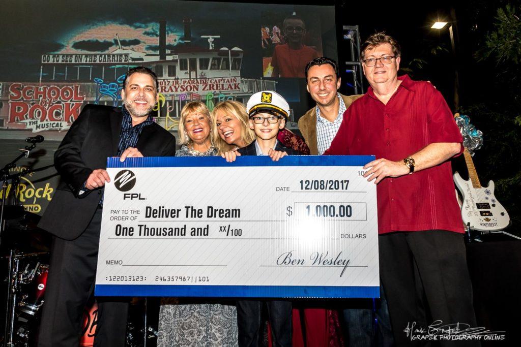 2017 Jr Captain Grayson Zrelak – Deliver the Dream