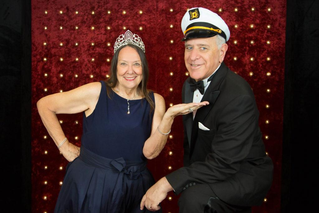 Winterfest 2017 Belle of the Ball Eugenia Duncan-Ellis and Commodore Ken Ortner