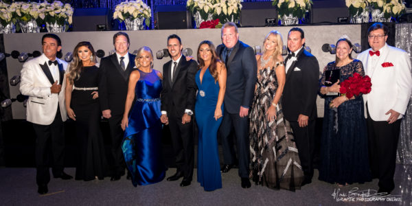 photo from the black tie ball