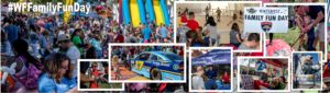 photo montage from the family fun day