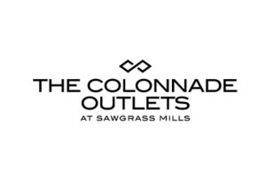 The colonnade outlets at sawgrass mills logo