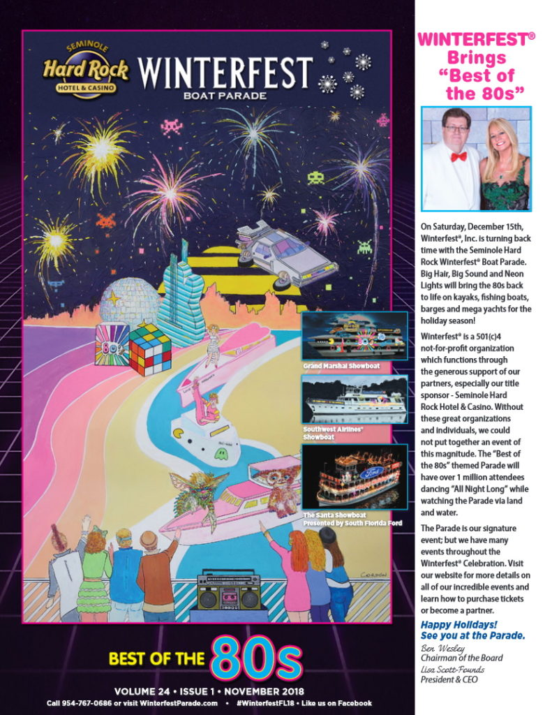 An image of the 2018 Winterfest Newsletter Cover