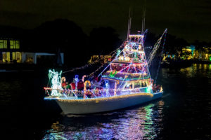 private boat entry in the boat parade