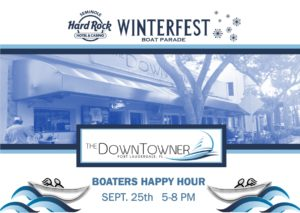 Happy Hour for the Downtowner on September 25