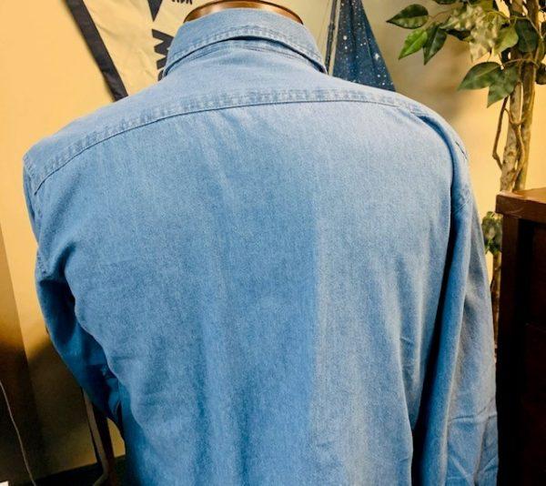 Denim Lady's Shirt back