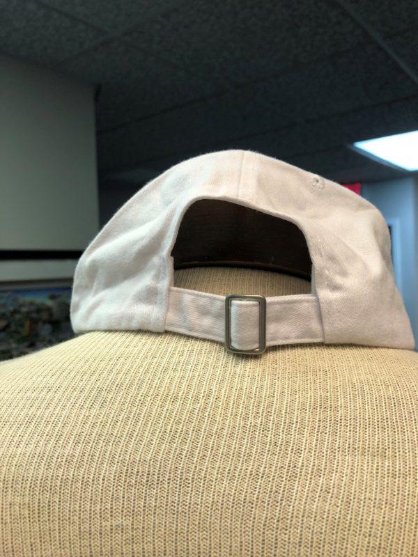 back of winterfest white hat
