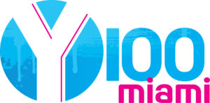 logo for y100 miami