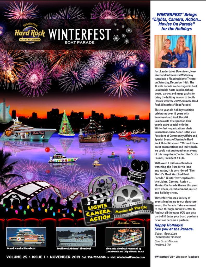 2019 Winterfest Newsletter Cover
