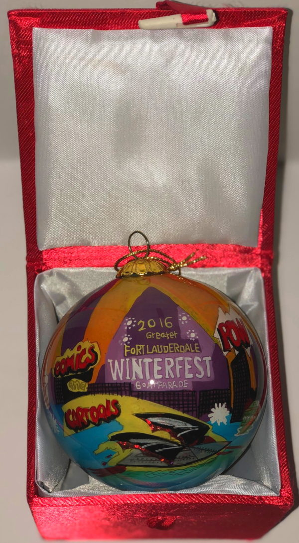 "2016 Collectible Ornament - ""Comics and Cartoons"""