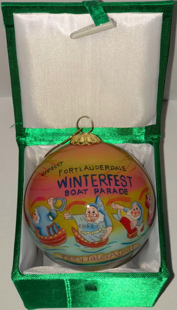 """2015 Collectible Ornament - """"Fairytales Afloat"""""""