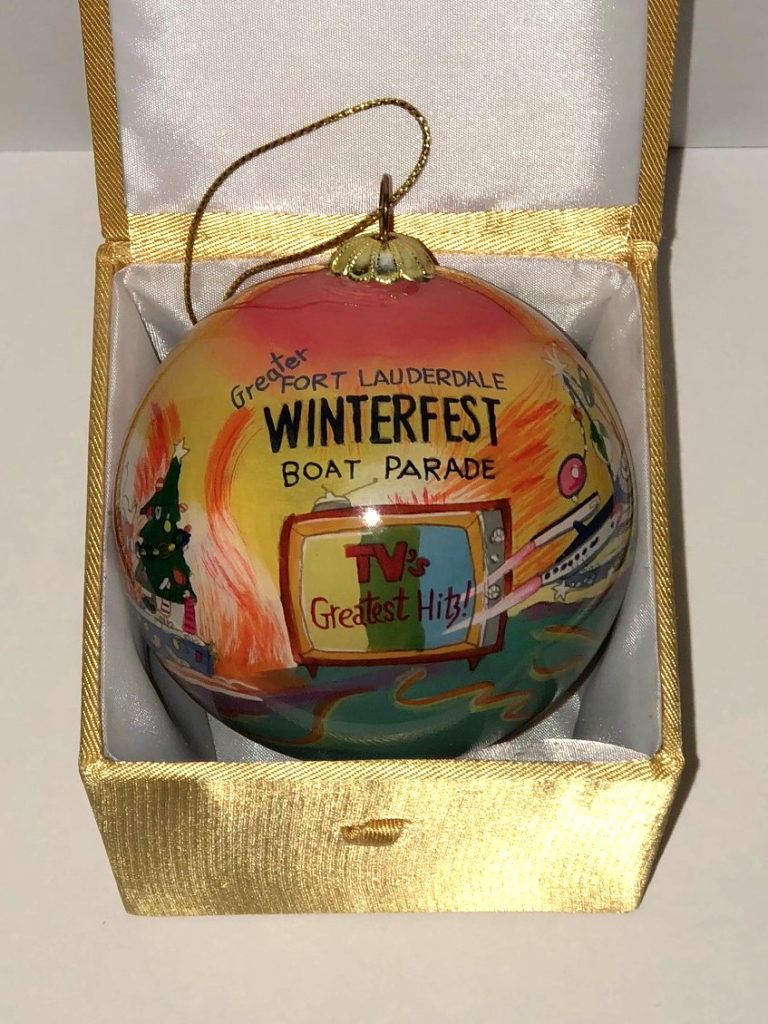 """2014 Collectible Ornament - """"TV's Greatest Hits"""""""