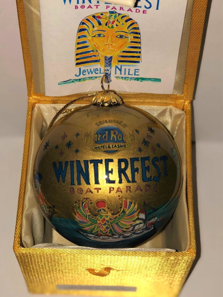 """2005 Collectible Ornament - """"Jewel of The Nile"""""""