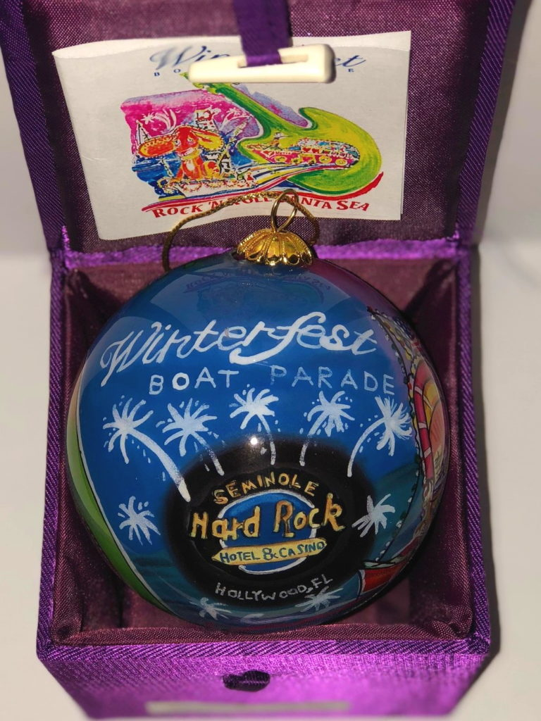 """2004 Collectible Ornament - """"Rock 'n Roll FantaSea"""""""