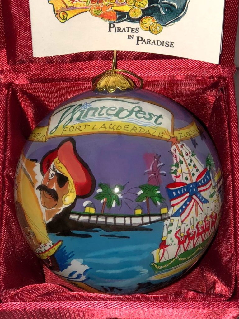 """2002 Collectible Ornament - """"Pirates In Paradise"""""""