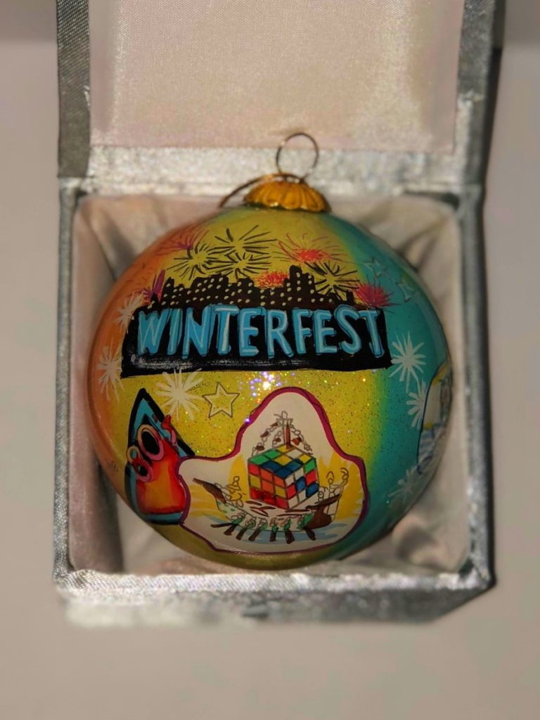 """2018 Collectible Ornament - """"Best of The 80's"""""""