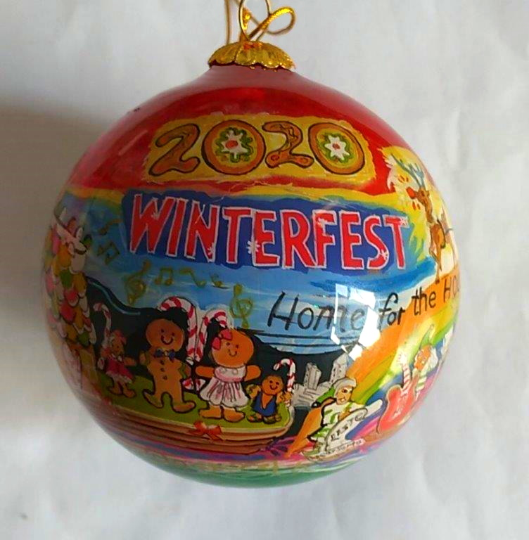 """2020 Collectible Ornament - """"Home for the Holidays"""""""
