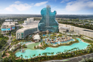 The Seminole Hard Rock Guitar Hotel property