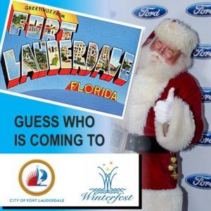 Santa's Coming to Fort Lauderdale
