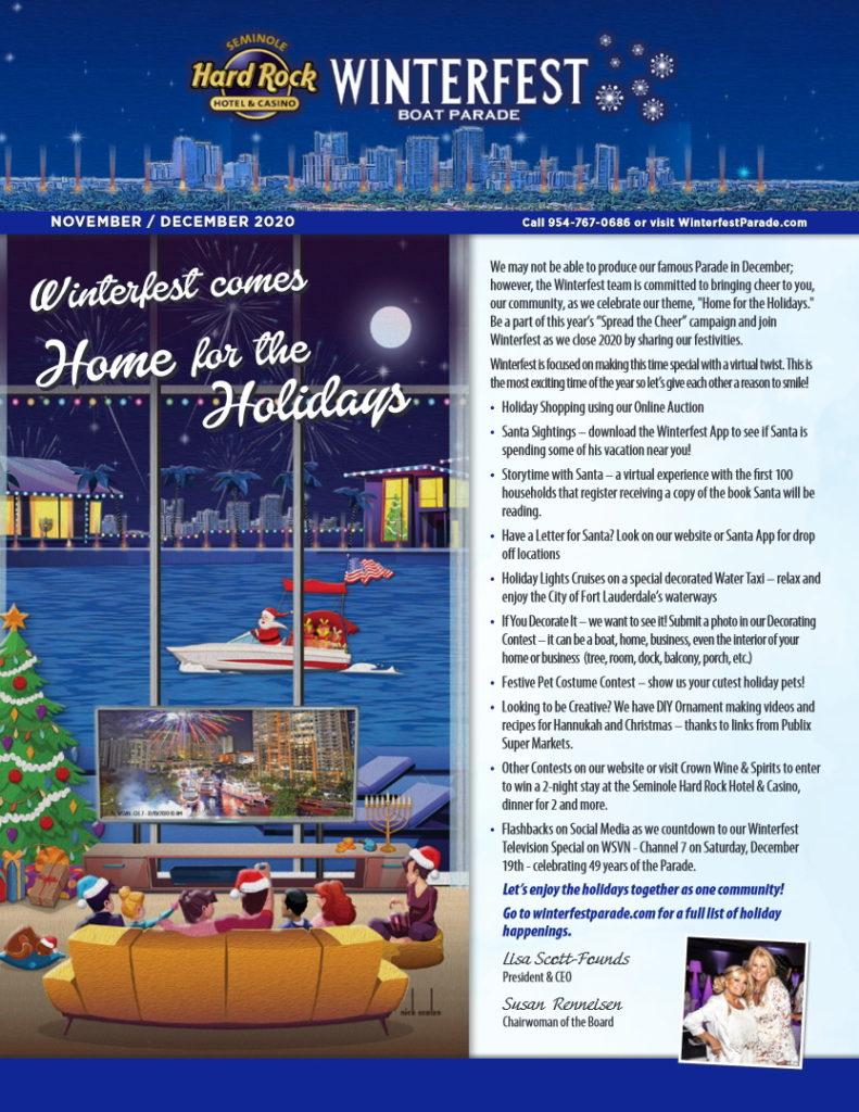 2020 Winterfest Newsletter Cover