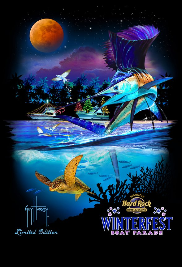 2011 Parade Poster by artist Guy Harvey