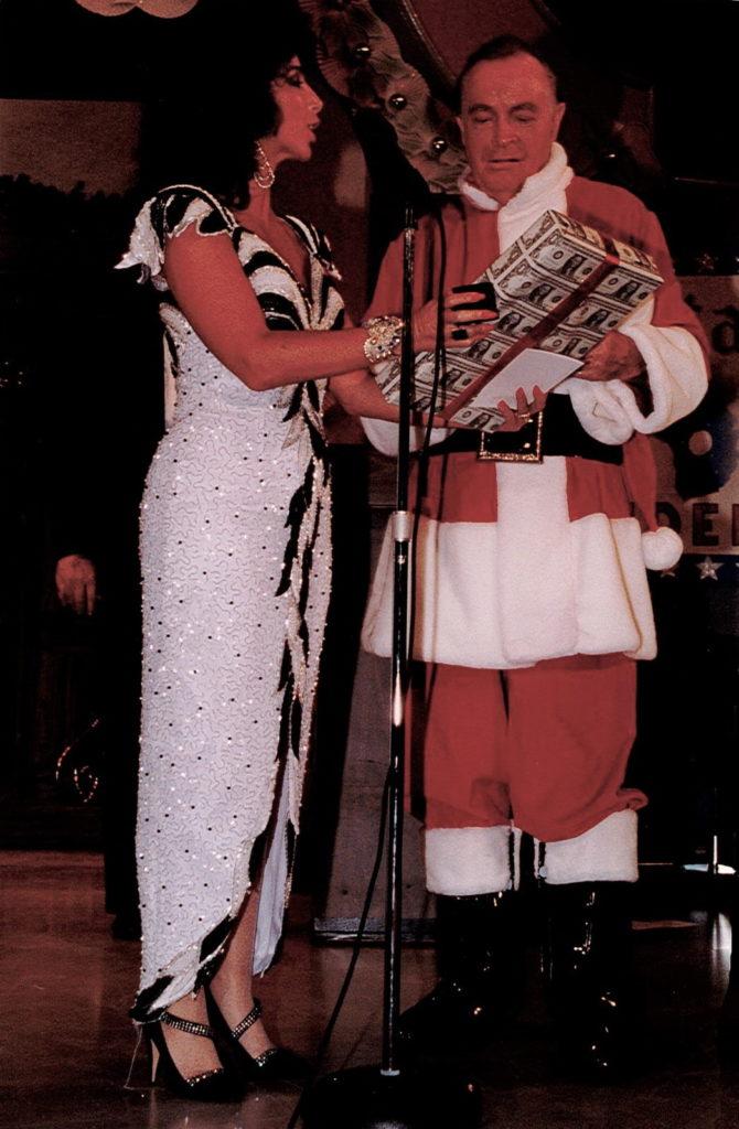 Winterfest President Ina Lee and Bob Hope