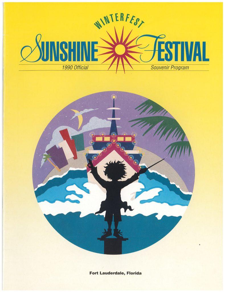 The Winterfest/Sunshine Festival Poster for 1990