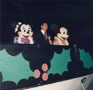 Mickey and Minnie at the Winterfest Gala in 1996
