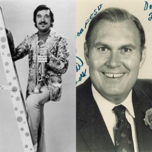 Head shots of Doc Severinsen and Willard Scott