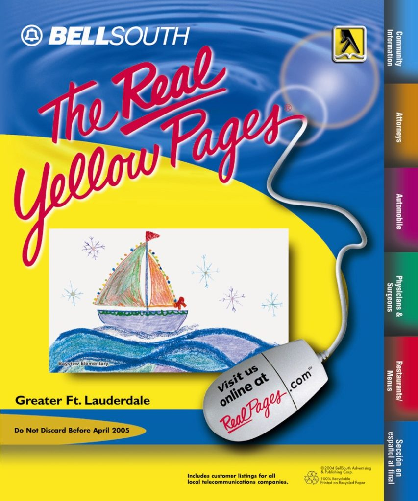 In 2003, Winterfest brought the parade into the classroom with the first annual cover contest with BellSouth Real Yellow Pages