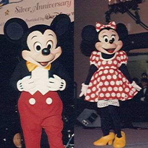 Mickey and Minnie Co-Grand Marshals 1996