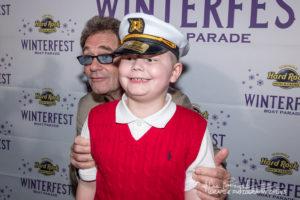 2018 Junior Captain Thomas Boegler with Huey Lewis
