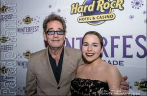 2018 Jr. Captain Sonia Rodriguez with Huey Lewis