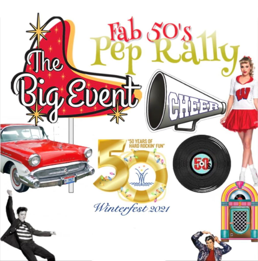 Image for Nifty Fifty Pep Rally Party